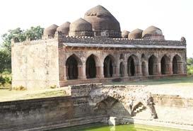 Darya Khans Tomb and Hathi Mahal Mandu