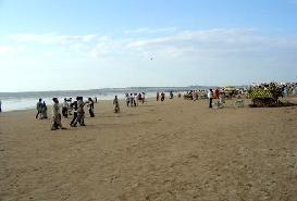 Gorai Beach in Mumbai, Maharashtra