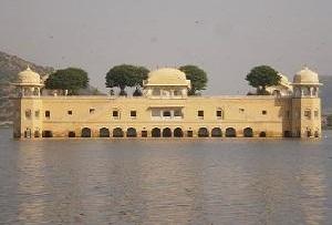 Jal Mahal Palace in Jaipur, Rajasthan