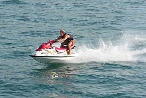 Jet Skiing Goa in India