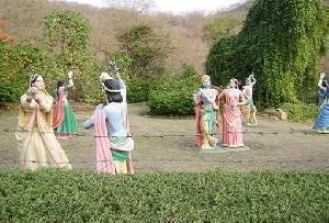 Kanak Vrindavan Garden, Jaipur in Rajasthan