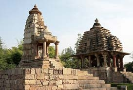 Lakshmi and Varaha Temple in Khajuraho