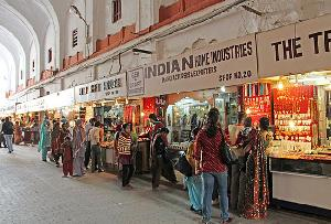 Meena Bazaar in Delhi, India