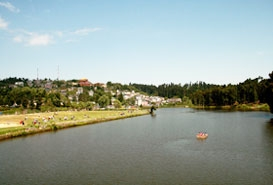 Mirik Lake Darjeeling , West Bengal