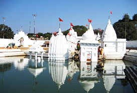 Narmada Udgam temple