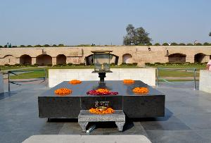 Rajghat in Delhi, India