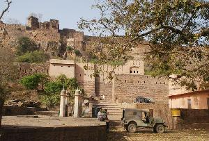 Ranthambore Fort in Rajasthan