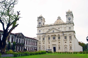 St. Cajetan Church in Goa, India