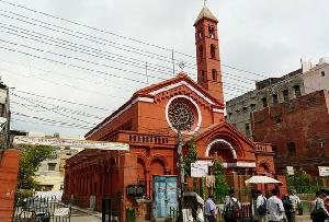 St. Stephens' Church in Delhi, India