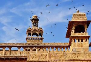 Tazia Tower in Jaisalmer in Rajasthan