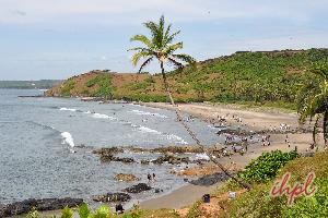 Vagator Beach Goa, India