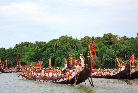 Aranmula boat race in Kerala, India