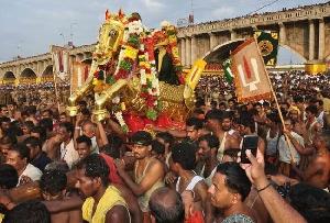 Chithirai Festival in Madurai, Tamil Nadu