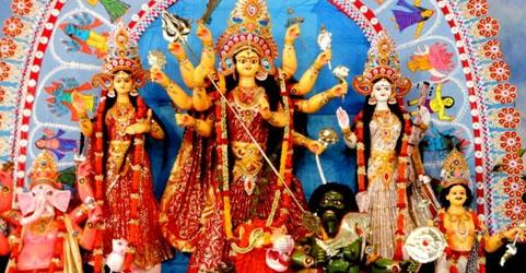 Durga Puja in Kolkata, West Bengal