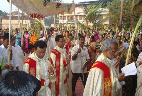Easter festival in Kerala, India