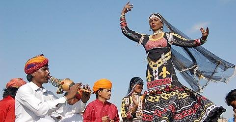 Kalbelia dance festival, Rajasthan
