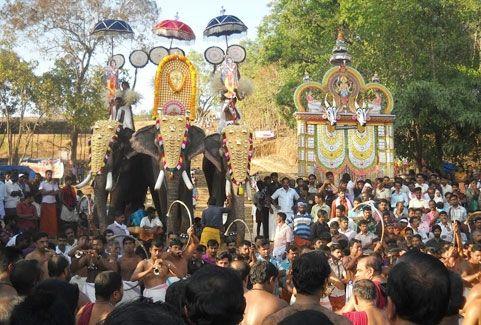 Kerala village fair festival in Kerala