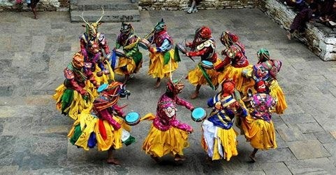 Losoong festival in Sikkim, India
