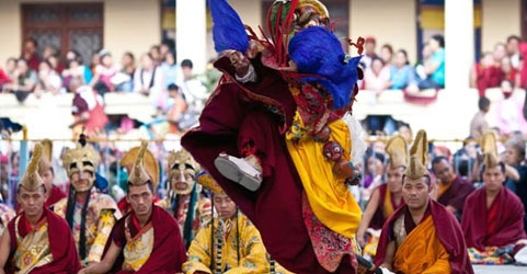 Losar festival in Sikkim, India