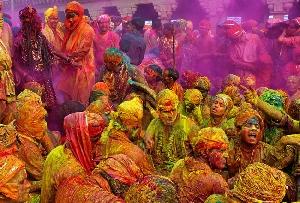 Nandgaon Holi festival in Uttar Pradesh