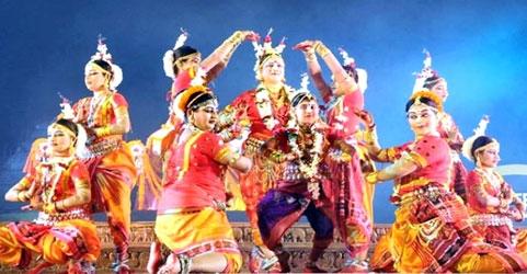 Puri Beach festival in Orissa