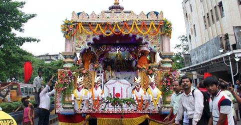 Ratha Yatra in Kolkata, West Bengal