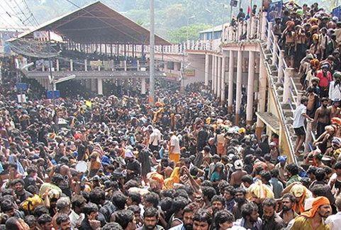 Sabarimala festivals in Kerala, India