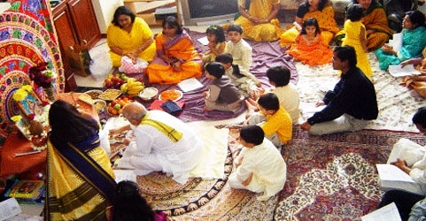 Vasant Panchami festival in West Bengal