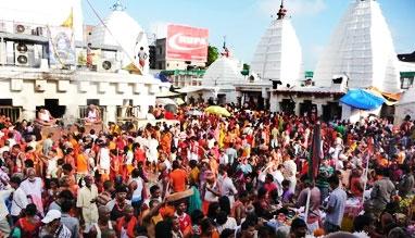 Shrawan Mela festival in Deoghar, Bihar