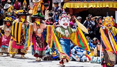 Spitok Gutor Zanskar Festival in Kashmir