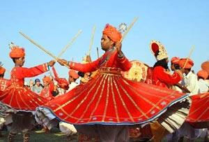 Summer festival in Mount Abu, Rajasthan