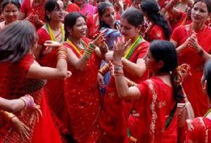 Teej Festival in Jaipur, Rajasthan