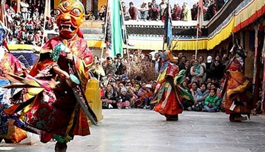 Thiksay Gustor Festival in Jammu and Kashmir