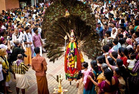 Thirunakara festivals in Kerala, India