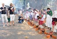 Attukal Pongala Festival in Kerala