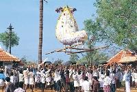 Chinakkathoor pooram in Kerala, India