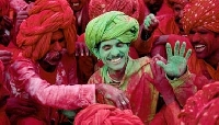 Holi in Rajasthan