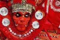 Kuttikkol thampuratty theyyam in Kasaragod