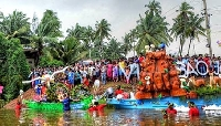 Sao Joao festival in Goa, India