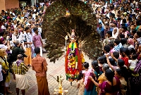 Thirunakara festivals in Kerala, India