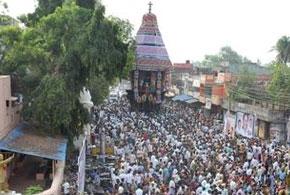 Villianur Temple Car Festival in Pondicherry
