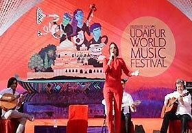 World music festival in Udaipur, Rajasthan