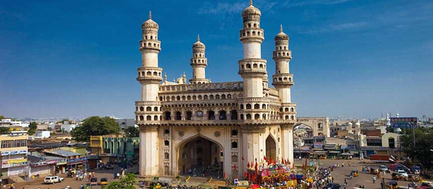 Charminar Monument in Hyderabad, Telangana