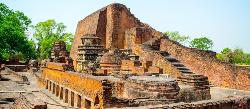 Nalanda city in Bihar