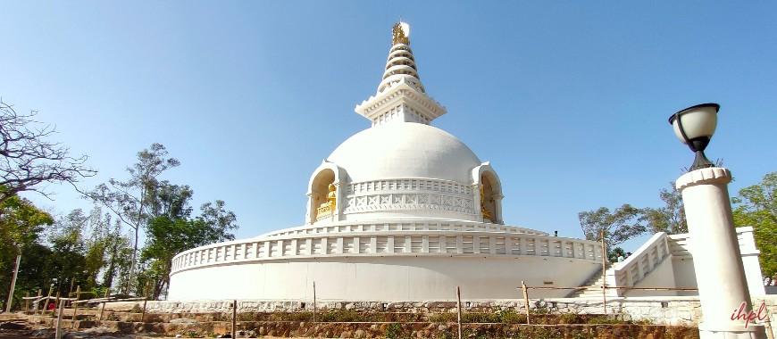 Rajgir city in Bihar