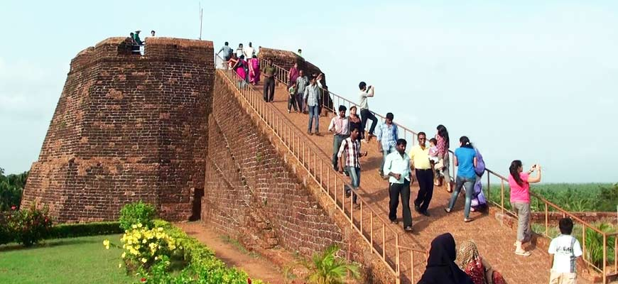 Bekal city in Kerala