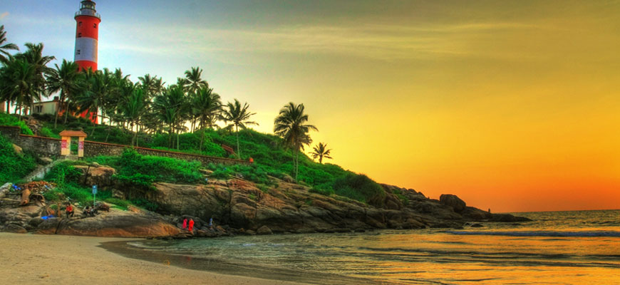 Light House Beach Kovalam