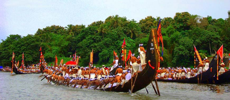 boat race in Aranmula