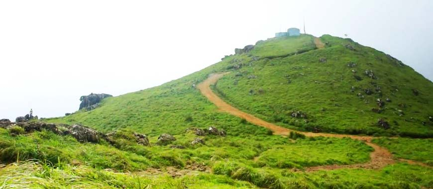 Ponmudi hill station in Kerala