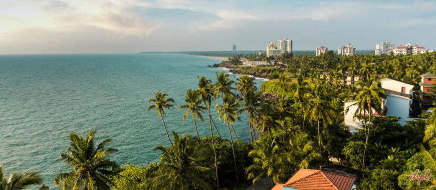 Payyambalam Beach in Kerala